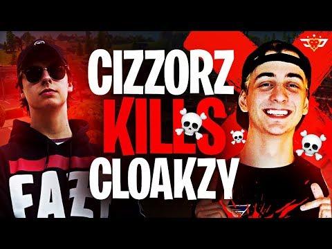 CIZZORZ KILLS CLOAKZY?! NEARLY A FIGHT! (Fortnite: Battle Royale)