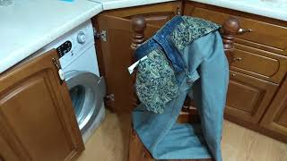 Как стирать джинсы...