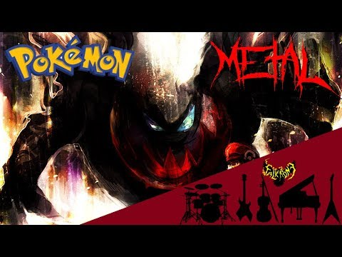 Pokémon M10: The Rise of Darkrai - Darkrai's Theme 【Intense Symphonic Metal Cover】