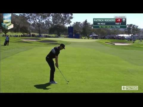 The Phenom Patrick Rodgers' Golf Highlights 2017 Farmers Insurance PGA Tournament Torrey Pines