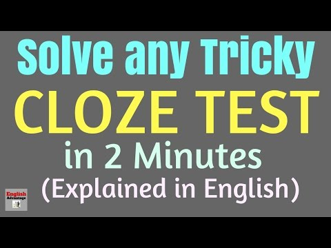 cloze test english tricks for ibps clerk ippb aao rrb rbi