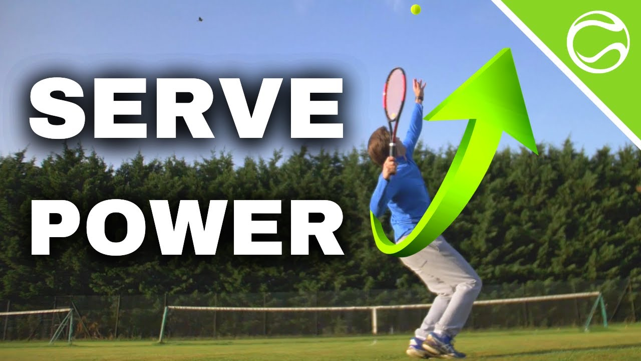 How To Serve Rockets in 5 Steps 🚀 - Tennis Serve Power Lesson