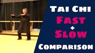 Cheng Man Ching Yang Tai Chi 37 Form Fast - Slow Comparison 楊氏 太极拳