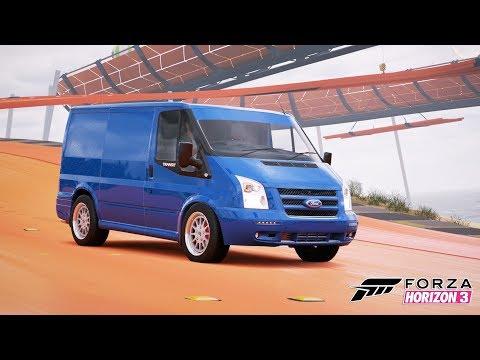 Ford Transit ile Hot Wheels Parkurlarını Geziyoruz - Forza Horizon 3