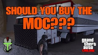 GTA ONLINE: SHOULD YOU BUY THE MOC??? (Mobile Operations Center)