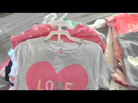 Huge Baby Clothes Haul | Carters, JCPenny, DDs Dis - YouTube
