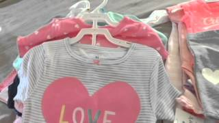 Huge Baby Clothes Haul | Carters, JCPenny, DDs Dis