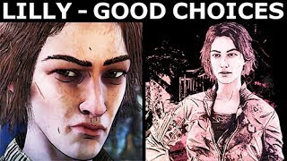 Lilly - Good Choices & Best Outcome - The Walking Dead Final Season 4 Episode 2