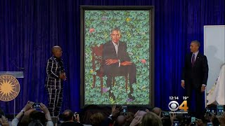 Obama Jokes He Couldn't Get Artist To Give Him Less Gray Hair, Smaller Ears