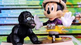 Przyjaciele na Safari #22 • Disney • Gorylątko George • Encyklopedia zwierząt z zabawkami