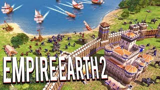 OLD SCHOOL CLASSIC RTS! ALL OF HUMAN HISTORY ! EMPIRE EARTH 2 MULTIPLAYER GAMEPLAY LETS PLAY