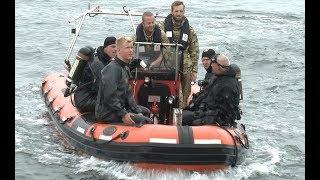 Ubådssagen: dykning efter beviser