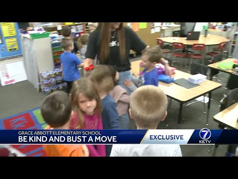 Grace Abbott Elementary School: Be Kind and bust a move