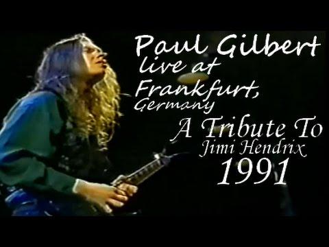 Paul Gilbert live at Frankfurt Jazz Festival, Germany (1991) [Full concert]