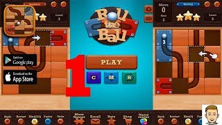 Roll the Ball -- slide puzzle gameplay part #1