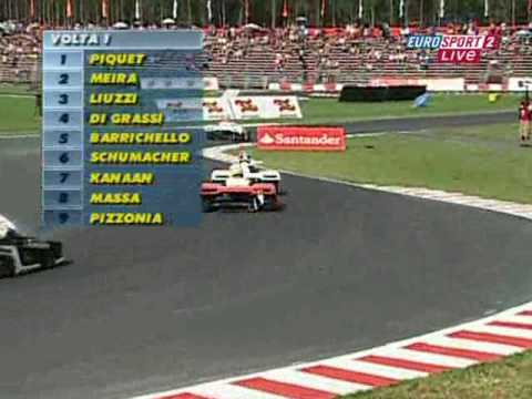 Michael Schumacher Charity karting event Highlights! Piquet gets Owned! FAIL