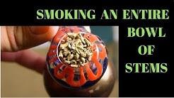 Smoking a Bowl of STEMS (Do Stems Get You High?)