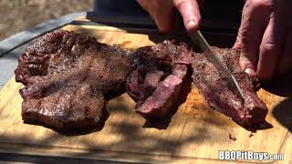 Real Grilled Steak Burgers by the BBQ Pit Boys
