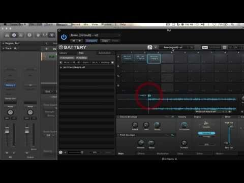 Logic Pro X #producerPOV - trying out that Fourtet Technique using Battery