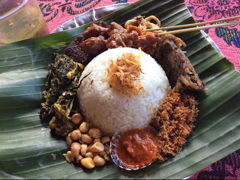 5 Restaurant Meals For $1.50 - Ubud, Bali