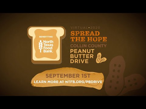 Spread the Hope Collin County Peanut Butter Drive 2020