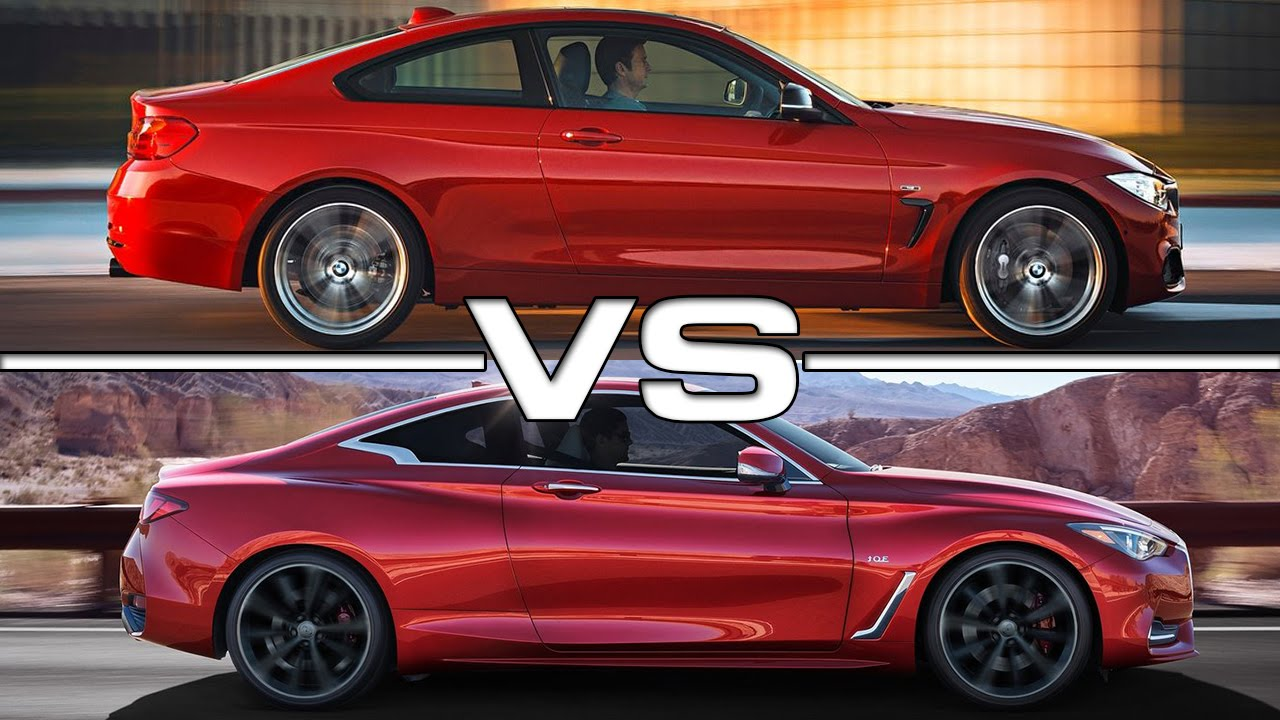 Lexus Is 350 2018 >> BMW 4 Series Coupe vs Infiniti Q60 Coupe - YouTube