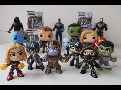 Marvel Avengers Endgame Funko Mystery Minis #kidsplacetown