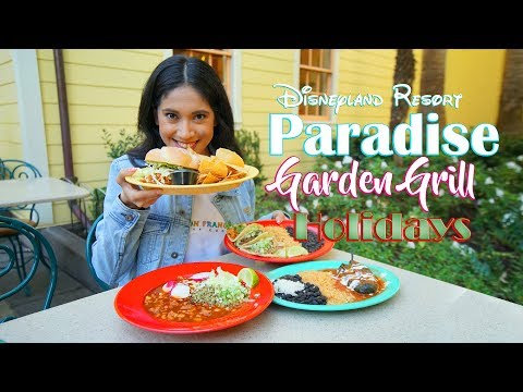 Disney's Paradise Garden Grill has Delicious Mexican food for the Holidays!