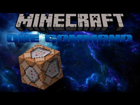 [Minecraft] One Command | WORLDEDIT!?!?!