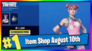 Fortnite Item Shop *NEW* BUBBLE BOMBER SKIN + EMOTE! August 10th, 2019 Fortnite Season X