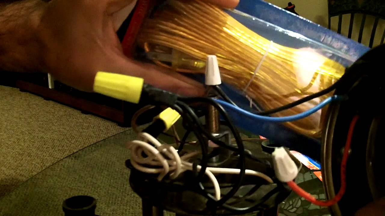 Tiffany Chandelier Electrical Part 1 Youtube Wiring In Parallel