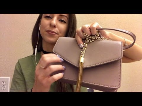 ASMR- What's in my Bag+Purse Collection