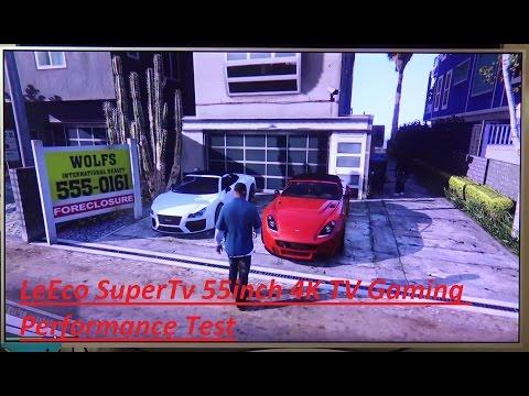 LeEco SuperTv 55inch 4K TV Gaming Performance Test