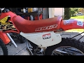 NEW DIRT BIKE REVEAL + how to put on new parts Honda xr 100r