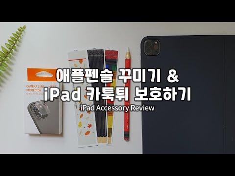 랩씨 애플펜슬 스킨+아이패드 프로4 카메라 렌즈 보호필름 리뷰