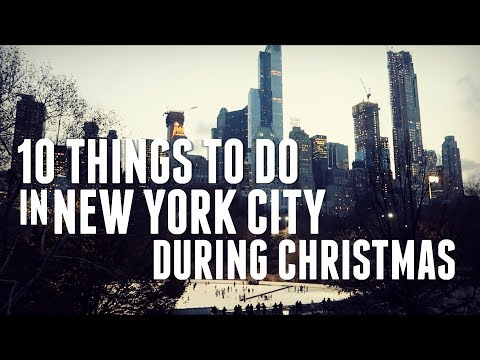 10 THINGS TO DO IN NEW YORK IN WINTER I CHRISTMAS TRAVEL VLOG