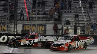 NASCAR Beating and Banging to the Finish