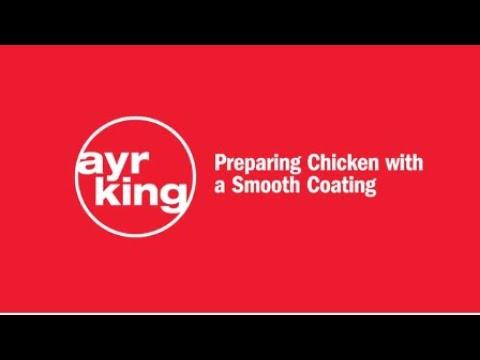FRIED CHICKEN: Smooth Coating