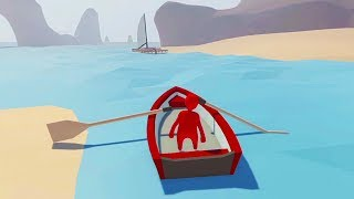 BOATING ACROSS THE OCEAN!! (Human Fall Flat) thumbnail