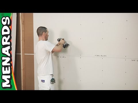 Drywall - How To Install - Menards
