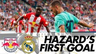 Eden Hazard39s FIRST Real Madrid goal