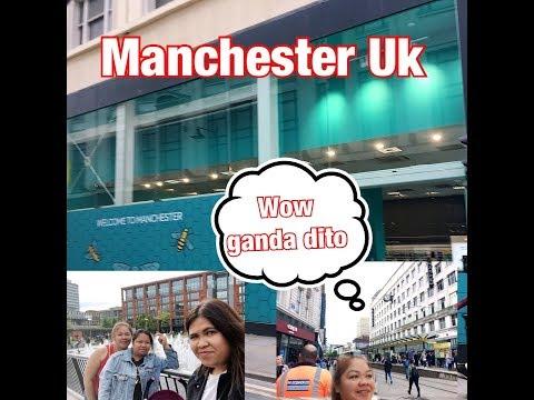 # Travel goals Manchester CITY CENTRE,UK//// Filipina Kurdish British in England