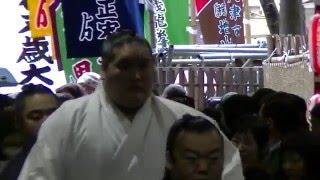 2016 大相撲 三月場所 大阪府立体育会館.