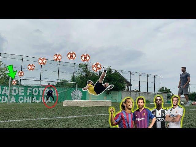 REFACEM GOLURI DIN FOARFECĂ (Messi, CR7, Ronaldinho, Bale) *FOTBAL CHALLENGE*