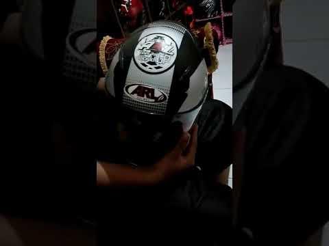 Cara Membesarkan Helm ARL Centro Yang Kekecilan ( INI's Helmet )