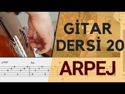 Arpej Nasıl Yapılır Gitar Dersleri 20 | Arpej Nedir ve Çeşitleri
