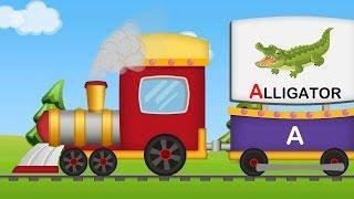 A to Z Animals Train | Animals Sounds | A-Z Animals