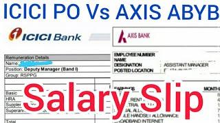 Axis ABYB Salary Vs ICICI PO Program Salary   Bank PO Program   Axis ABYB Program   Bank PO Salary