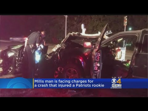 Millis Man Facing Charges In Crash That Injured Patriots Rookie
