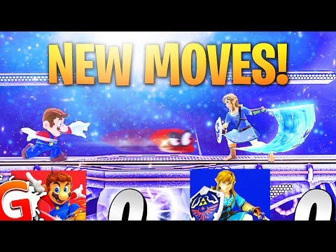 Top 5 NEW CHARACTER MOVESETS in Super Smash Bros. Switch!